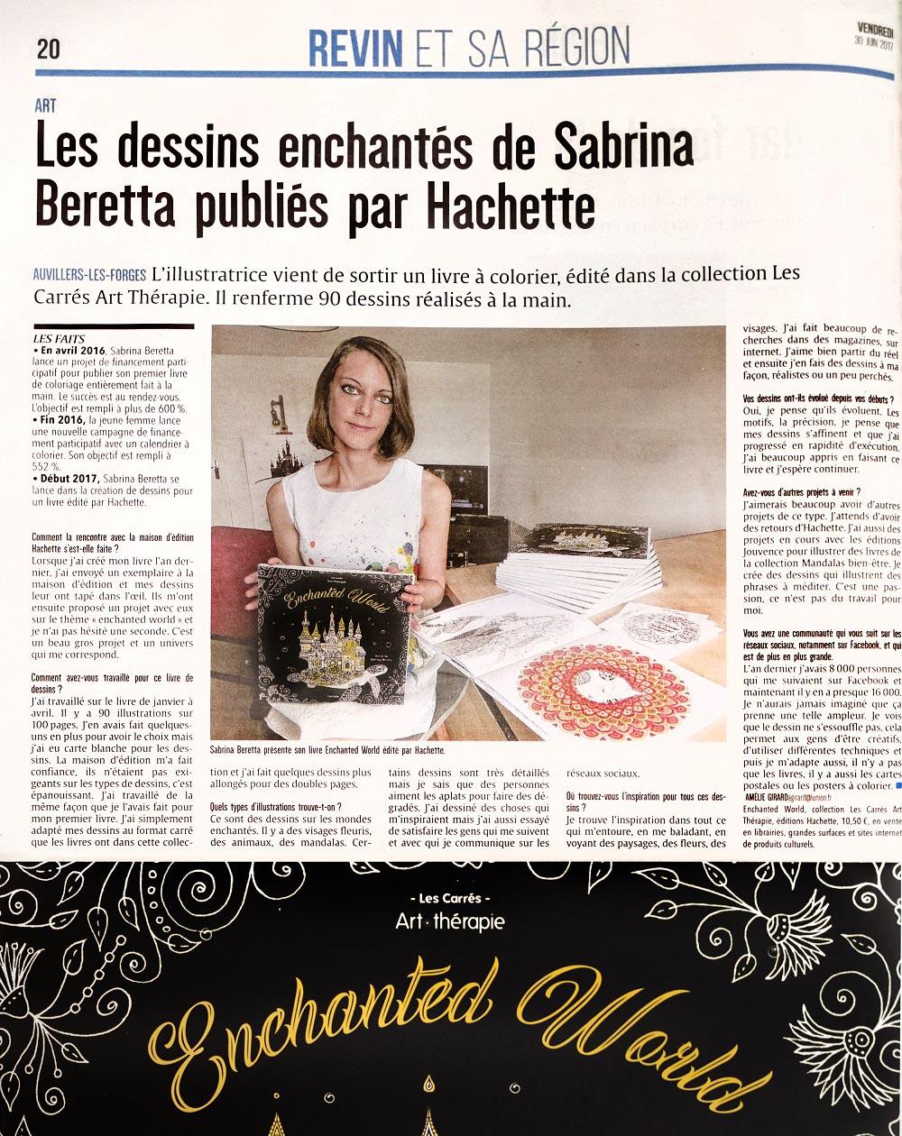 enchanted world par sabrina beretta