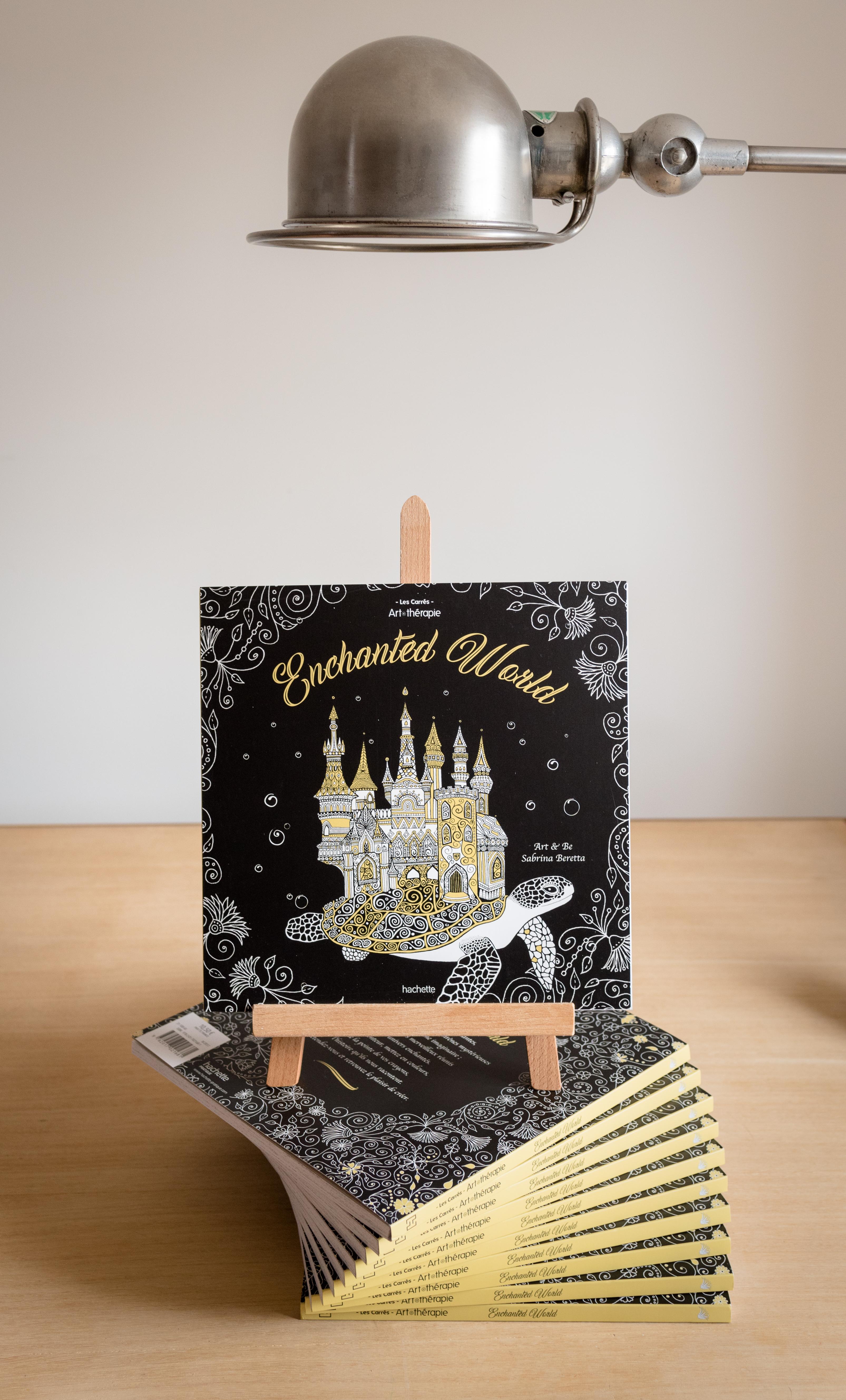 Enchanted World le livre de coloriage aux éditions Hachette