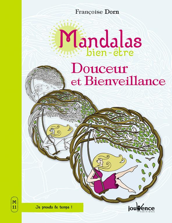 Mandalas Douceur et Bienveillance, livre de coloriage illustré par Sabrina Beretta alias Art et Be