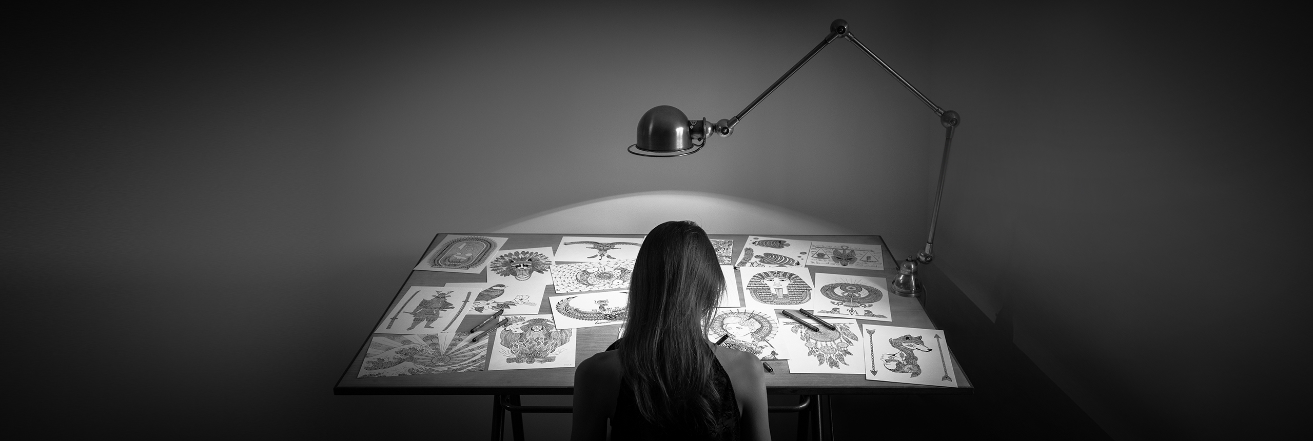 Sabrina Beretta est une illustratrice et dessinatrice autodidacte ardennaise