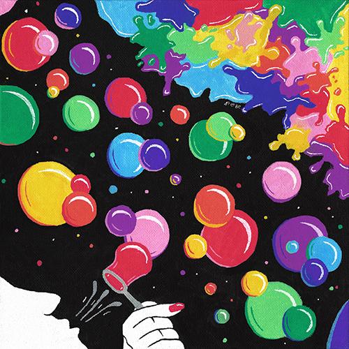 Art & Be - Peinture - Monde en couleurs