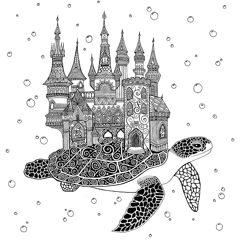 Art & Be - Dessin - Enchanted World