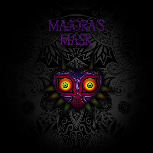 Art & Be - Illustration numérique - Zelda Majoras's Mask