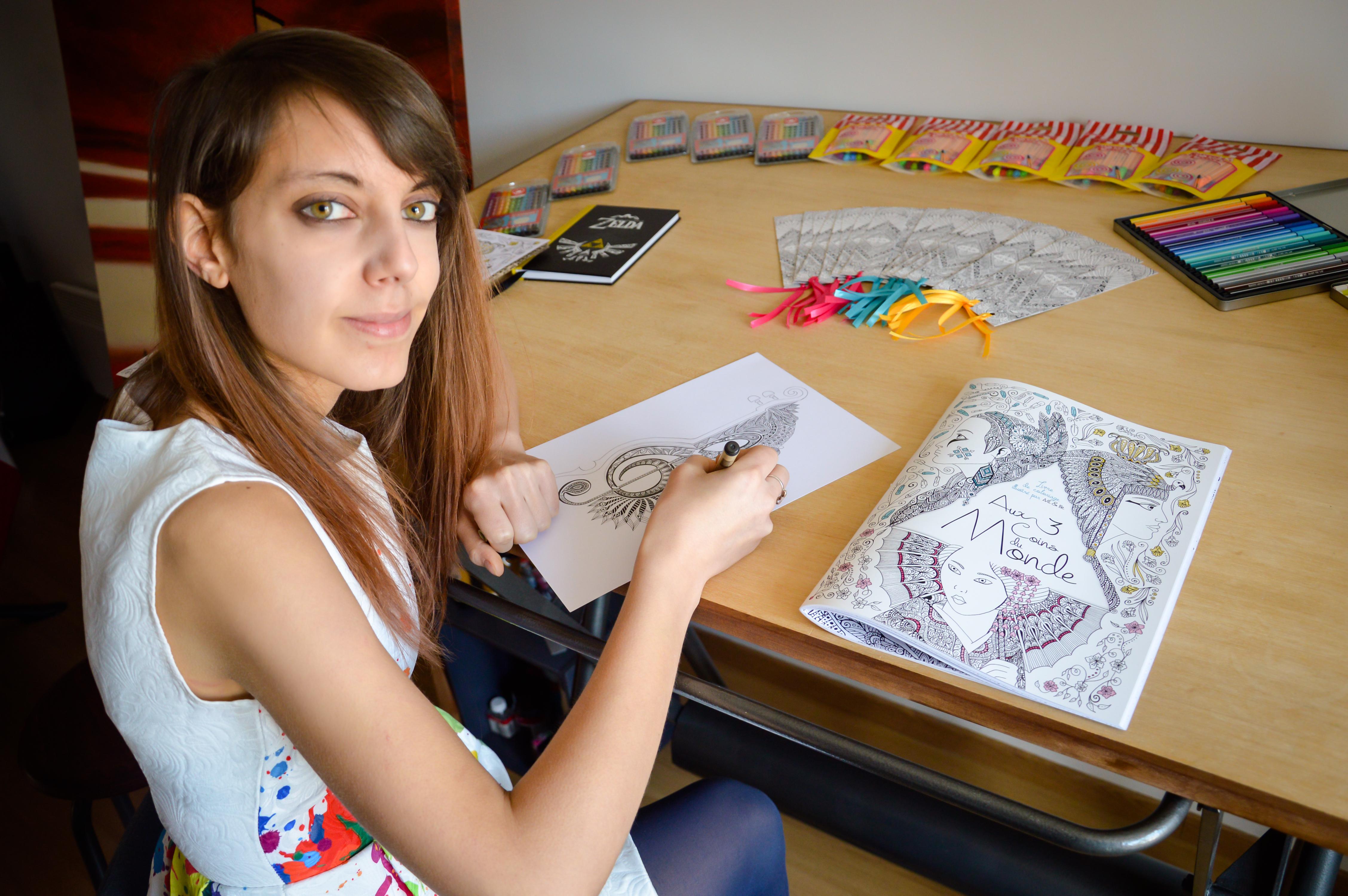 La Communauté de Communes Ardennes Thiérache met en avant l'illustratrice ardennaise Sabrina Beretta