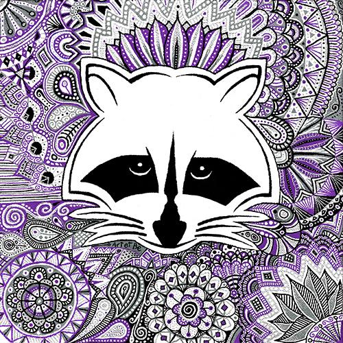 Art & Be - Peinture - Raton-Laveur