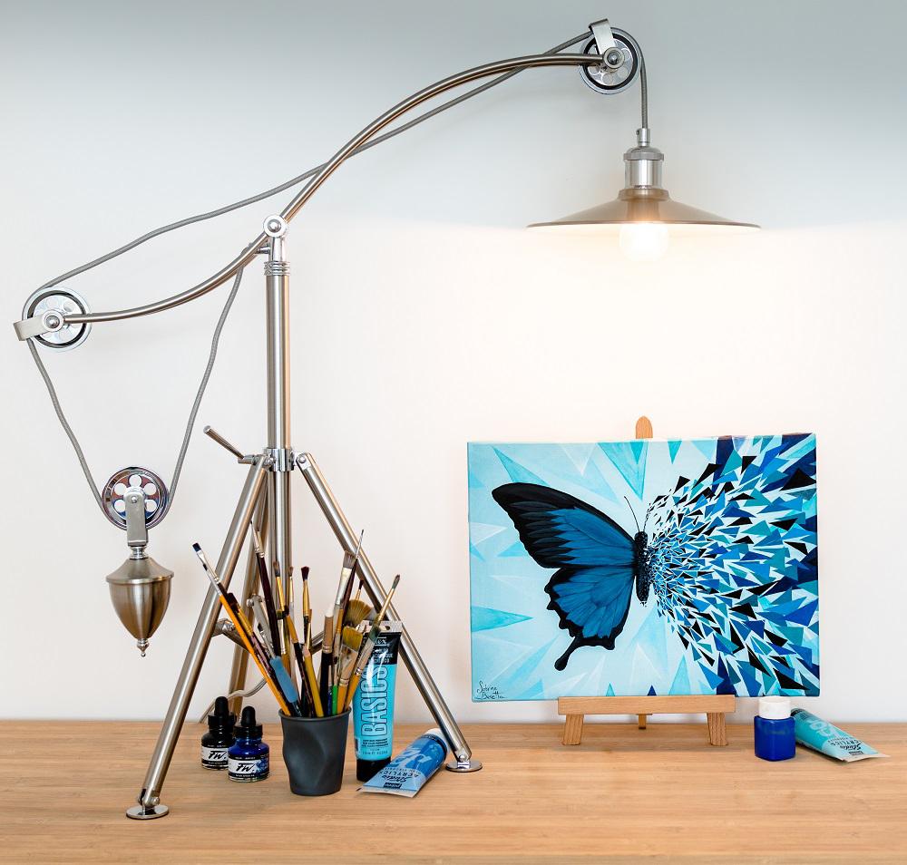 L'effet papillon en version bleue de Sabrina Beretta