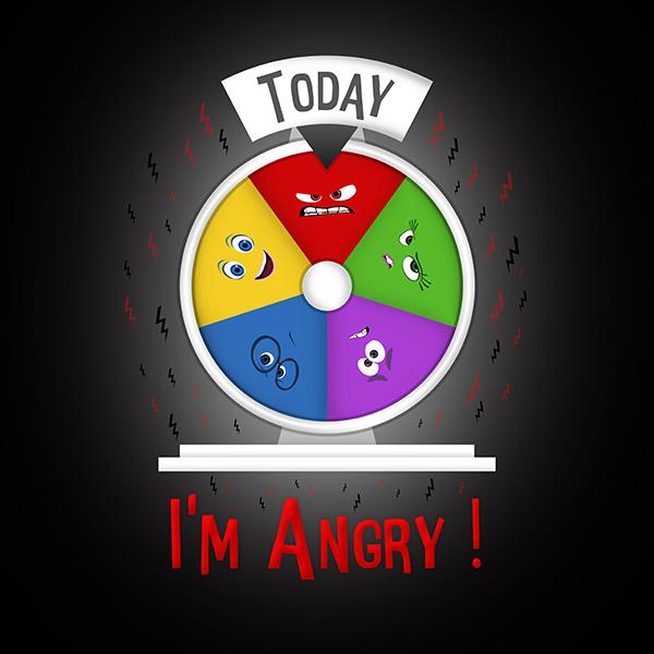 Art & Be - Illustration numérique - Vice Versa Angry