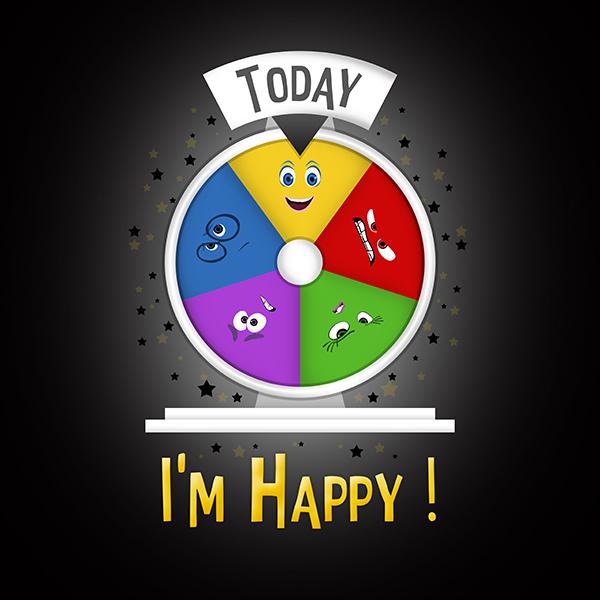 Art & Be - Illustration numérique - Vice Versa Happy