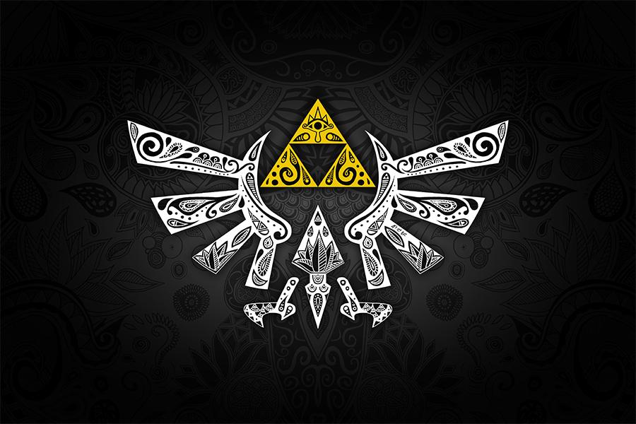 Art & Be - Illustration numérique - Zelda emblème Hyrule