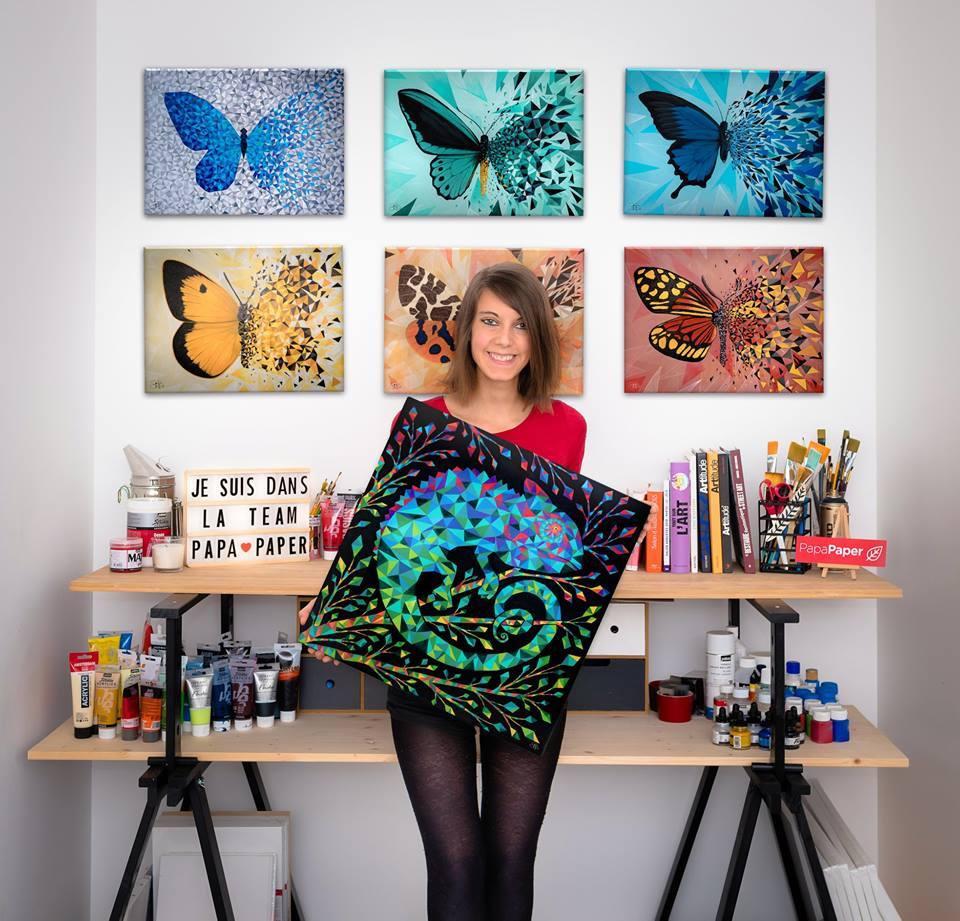 Des éditions d'art, certifiées, numérotées et certifiée de Sabrina Beretta sont disponibles sur divers support : poster, toile, aluminium