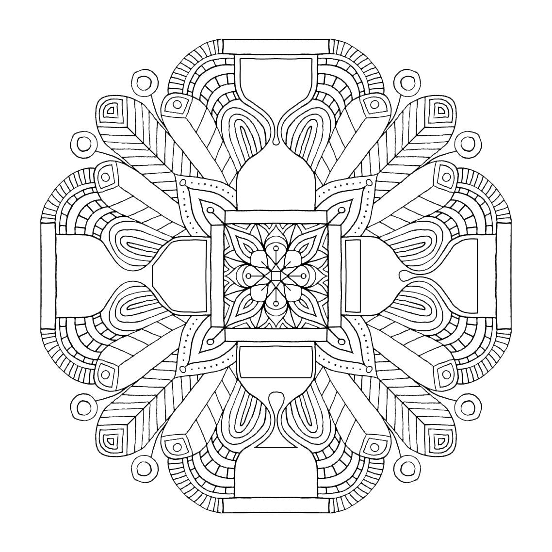 Art & Be - illustration de mandalas pour les éditions Jouvence