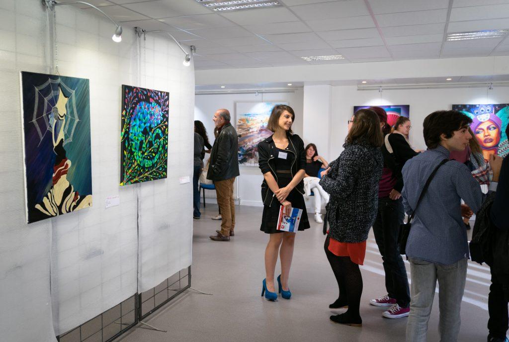 De belles rencontres au salon d'art arbustes de Mantes la Jolie