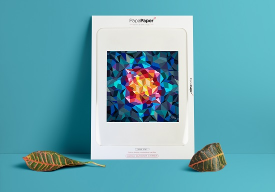 Papa-paper art print of artworks by Sabrina Beretta