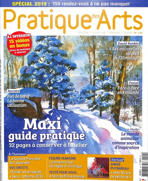 Pratique des arts 144 - Article et interview de Sabrina Beretta