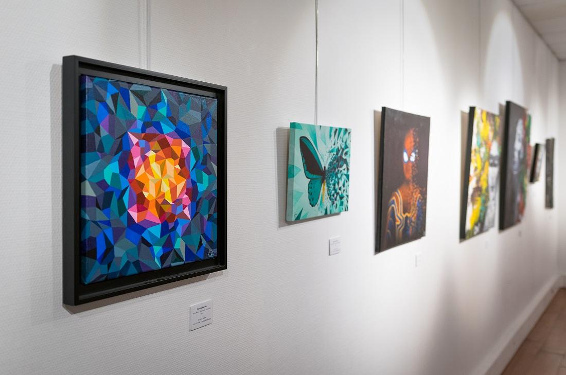 Œuvres Sabrina Beretta - Exposition espace Corot à Montigny-les-Cormeilles