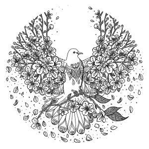 illustration du livre Mandalas Love par Sabrina Beretta - Art&Be