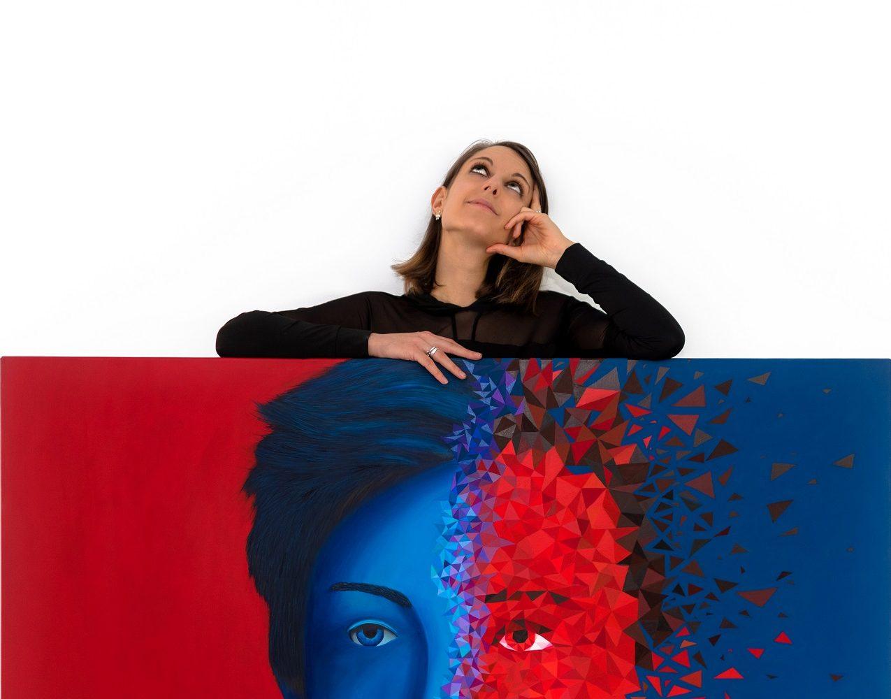Sabrina Beretta artiste peintre ardennaise de charleville-mézières