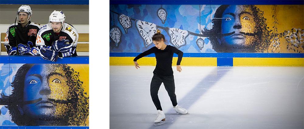 concours patinoire olympique courchevel