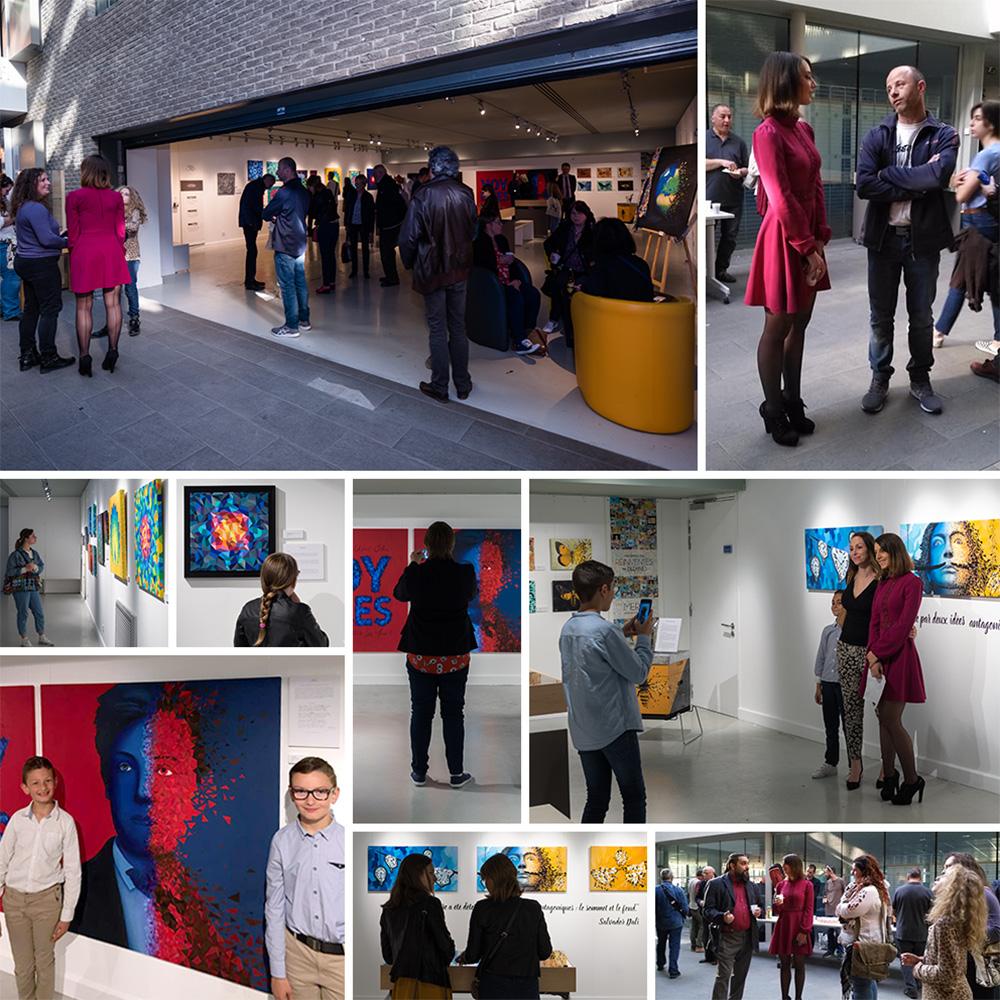 vernissage exposition artiste charleville mediatheque voyelles