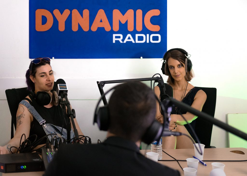 Interview de Sabrina sur Dynamic Radio