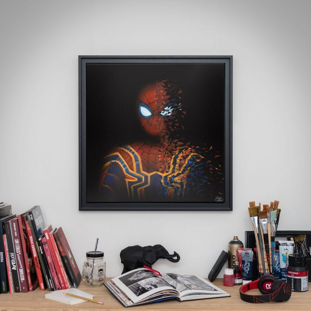 Spider-man est le premier super-héro à être désintégré par Sabrina Beretta
