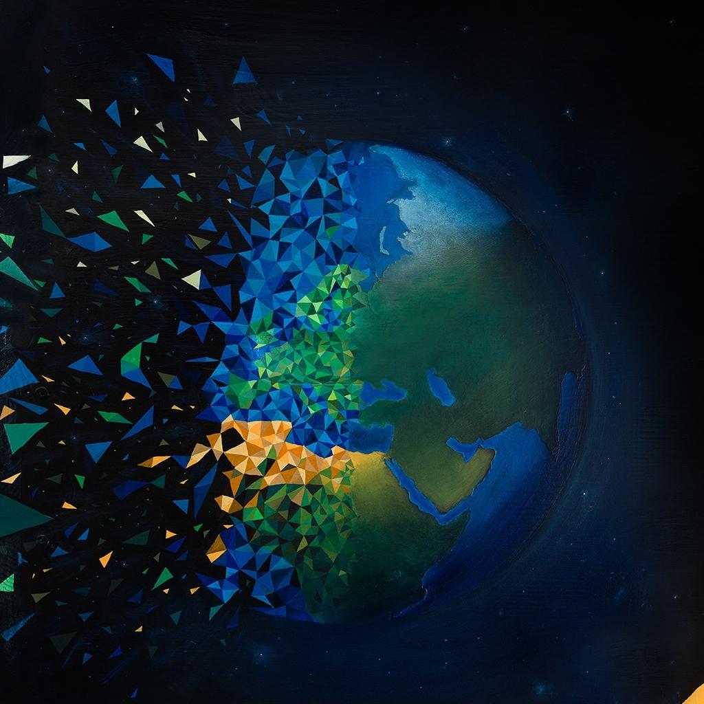 Une peinture de Sabrina Beretta en faveur de la préservation de la planète