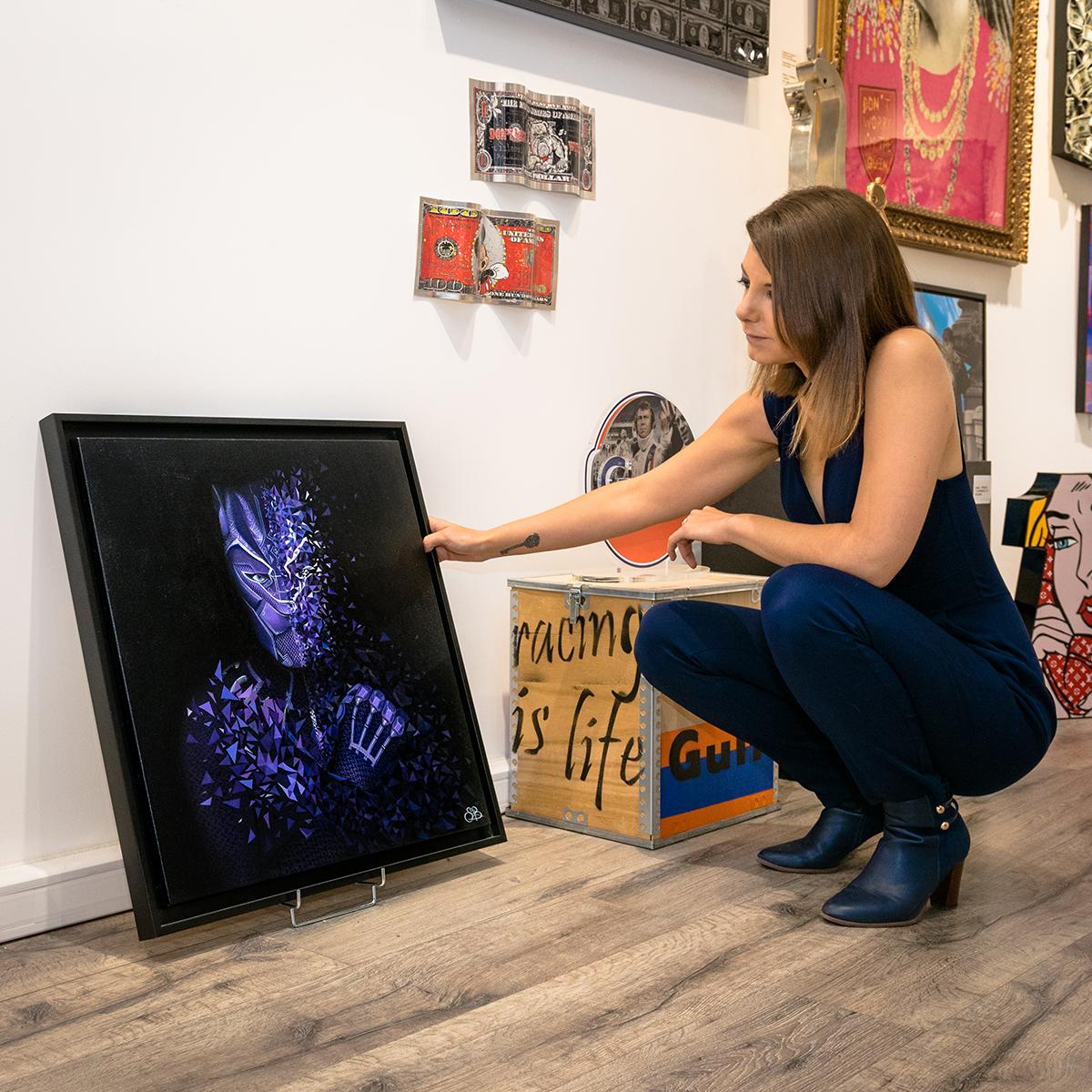 Sabrina Beretta et son Black Panther explosif exposé à la galerie reimoise d'art contemporain