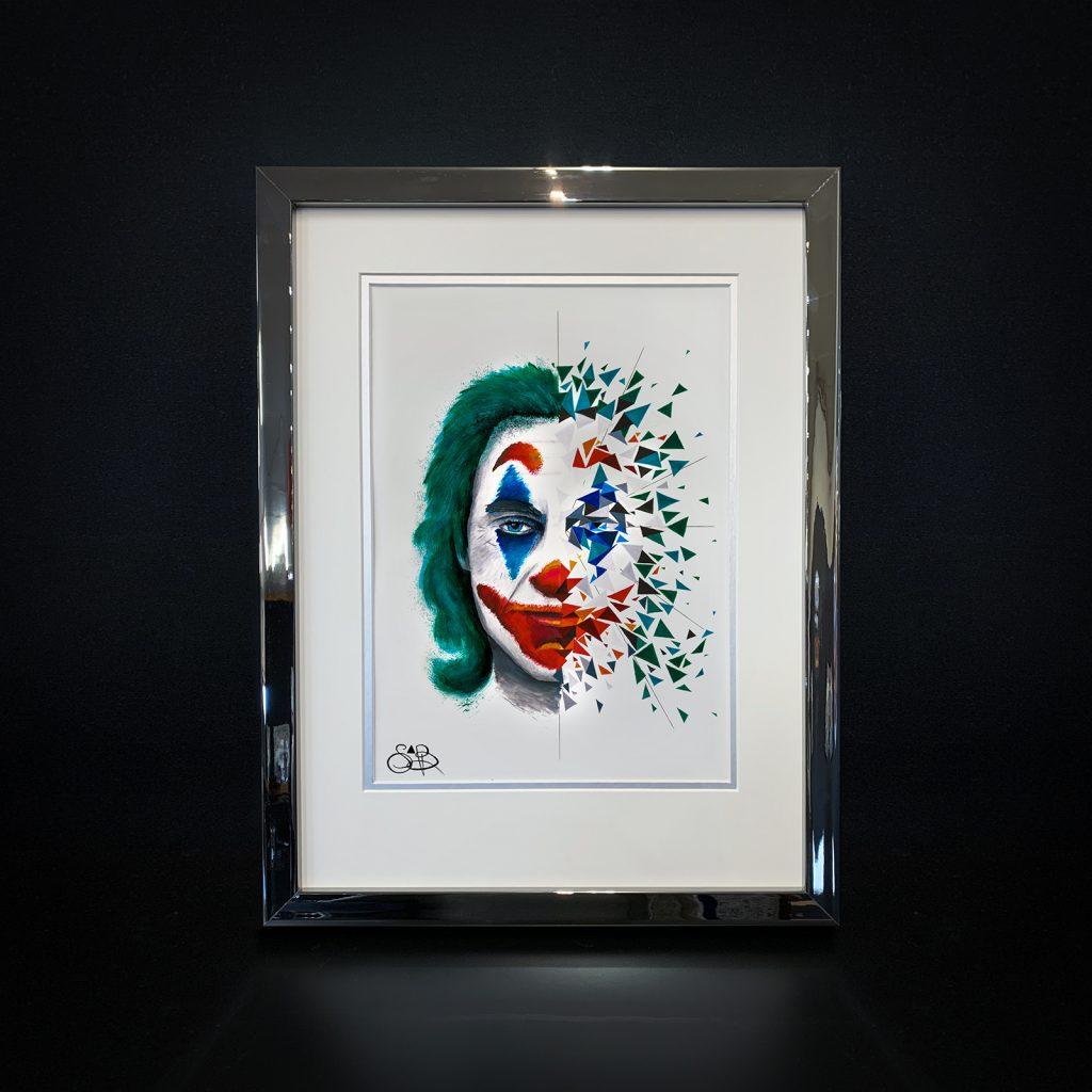 Dual Jokey est une peinture de Sabrina Beretta, et exposé à la galerie Guy Pensa