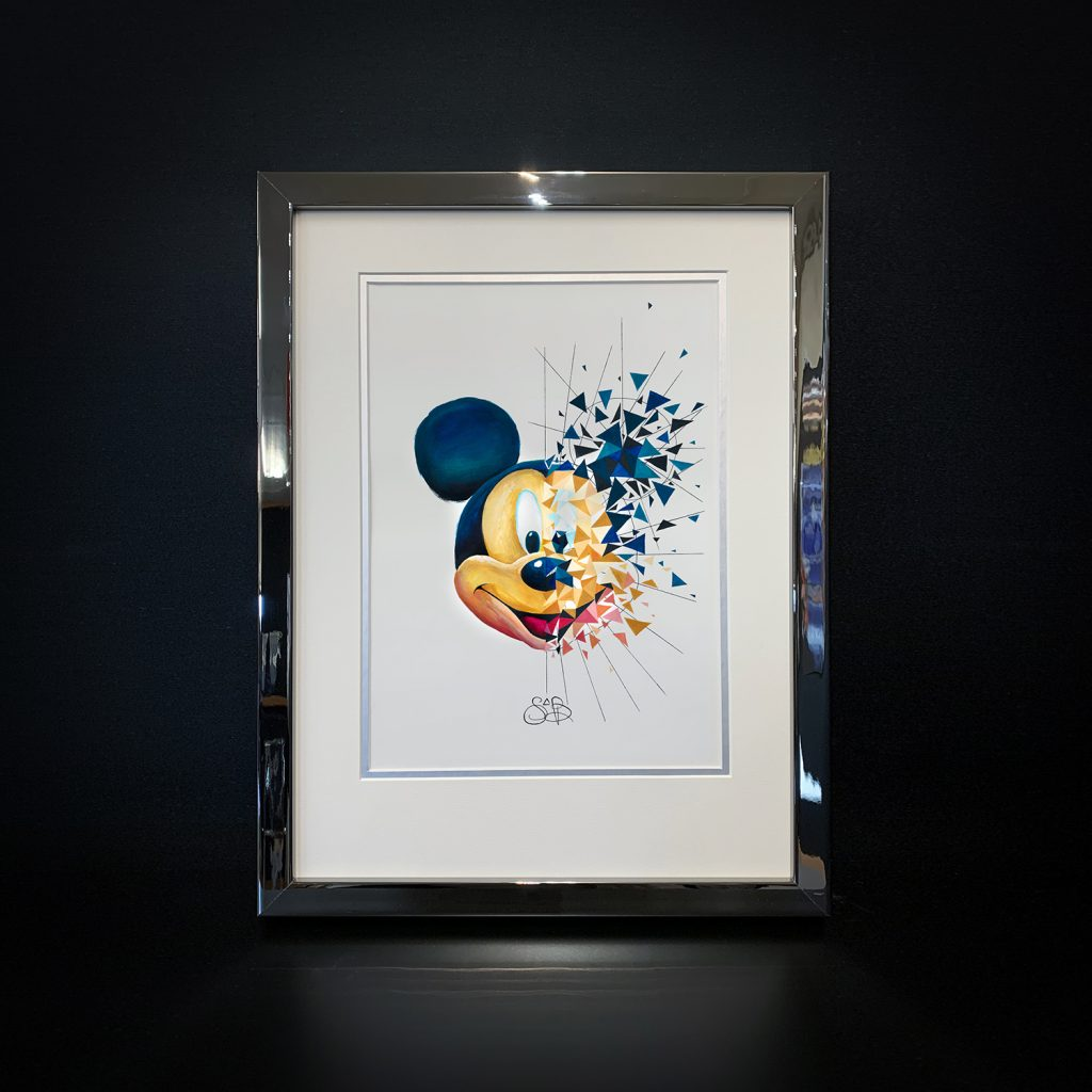 Mickey est exposé à la Galerie Guy Pensa aux côté de Kiko, David Cumps, Paul Flickinger, Emiaj, Brigitte Nataf, Den End