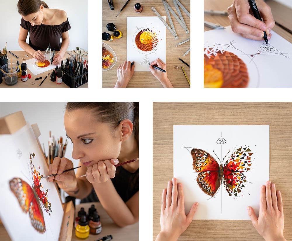 sabrina beretta vend art pour AP HP - Notorious Brand