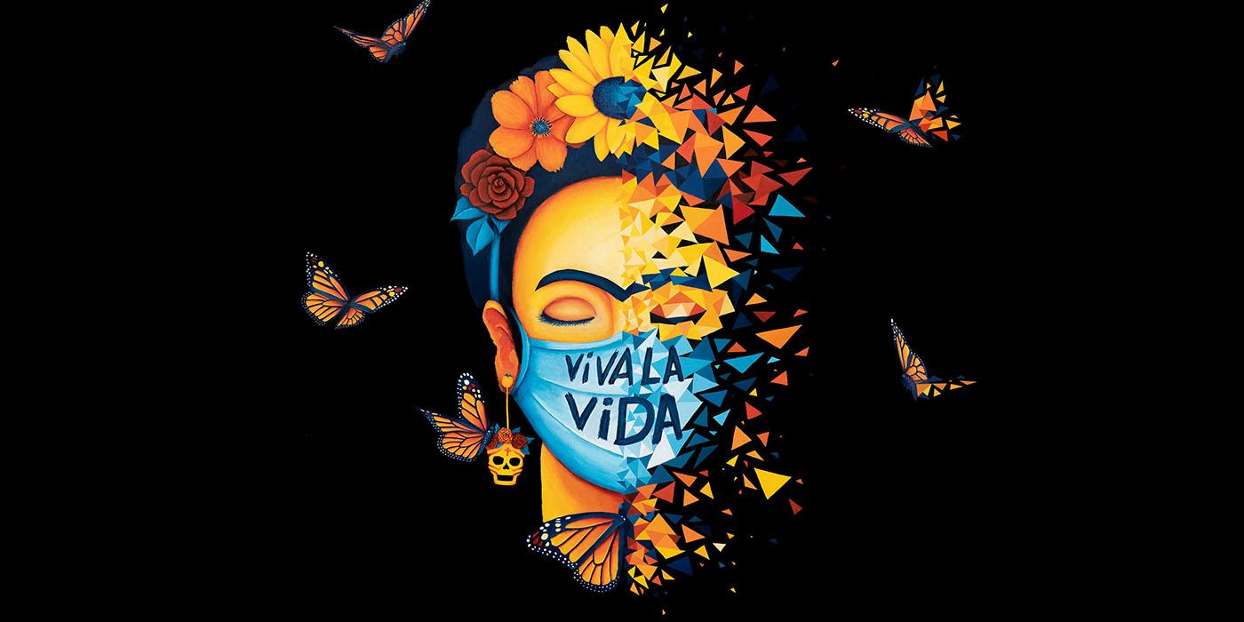 sabrina beretta - artiste peintre - frida kahlo