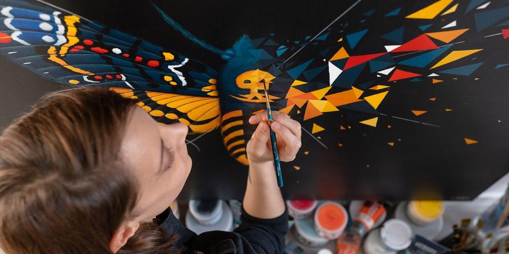 Effet papillon - Butterfly effect - Sabrina Beretta