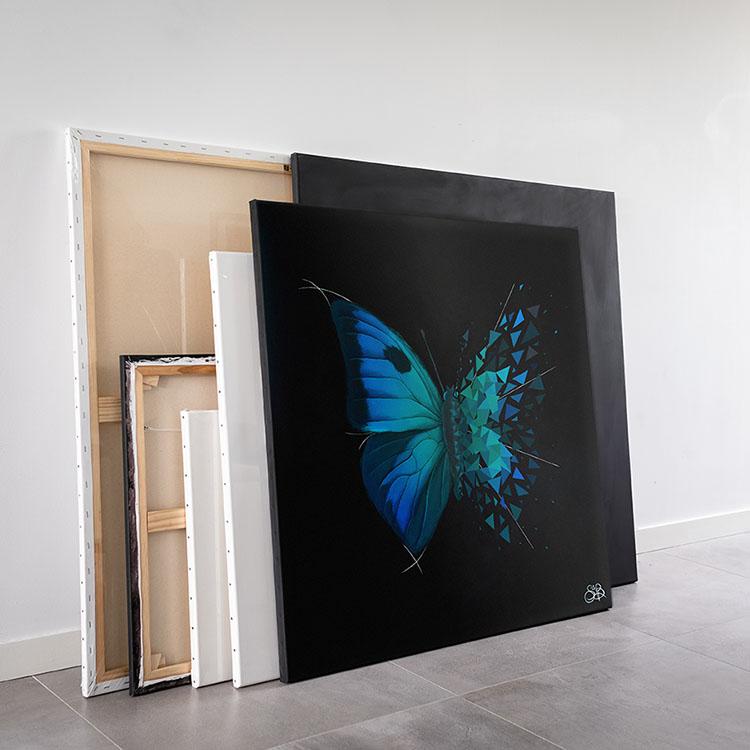 Sabrina Beretta a vendu son Effet papillon Splendid vendu sur Drouot online