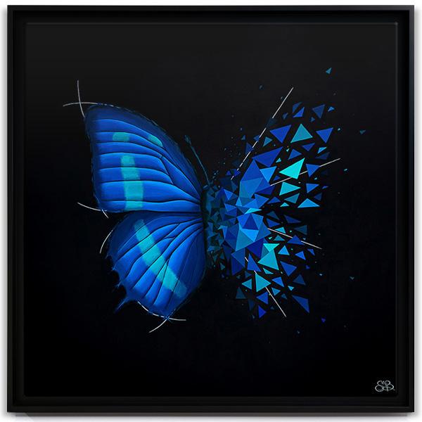 Butterfly Effect Cyan Image