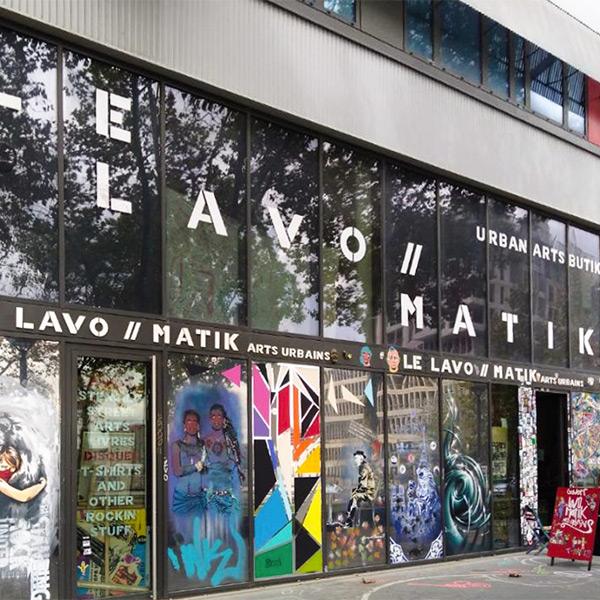 galerie art paris - le lavomatik - street - art - urbain
