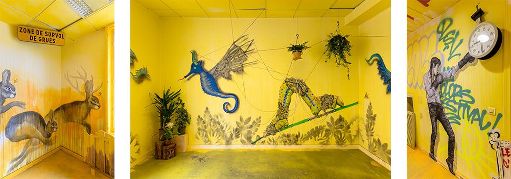 festival street art colors paris avec ardif, codex urbans, licea, levalet