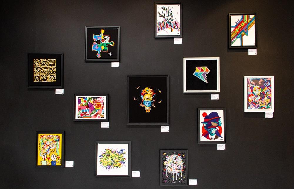 photo illustrant l'exposition Vangart à la Outsiders Galerie