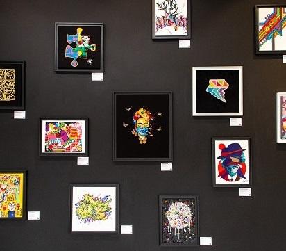 Collab avec Vangart à la Outsiders Galerie