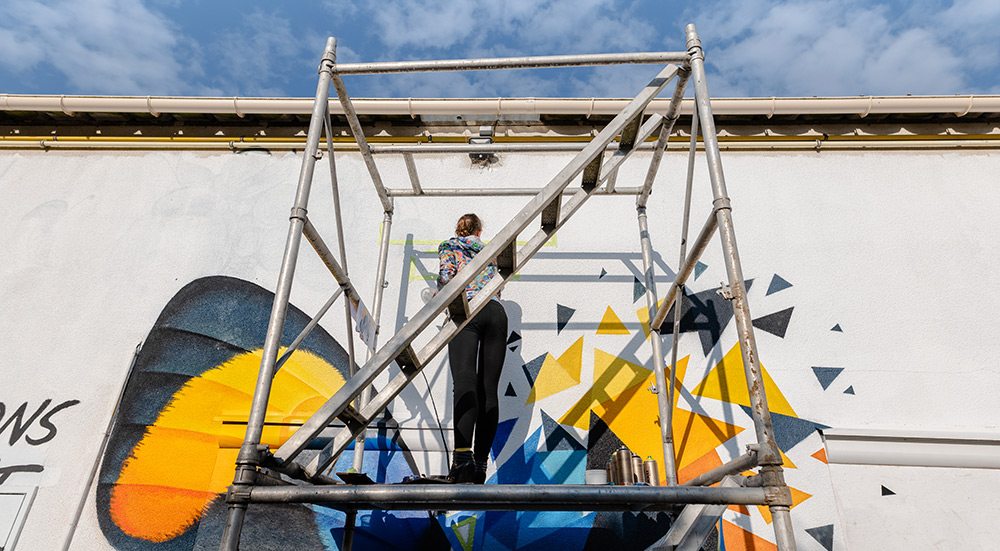 évènement street art à nogent-le-rotrou - RUR!