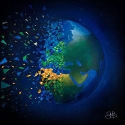 Terre explosion